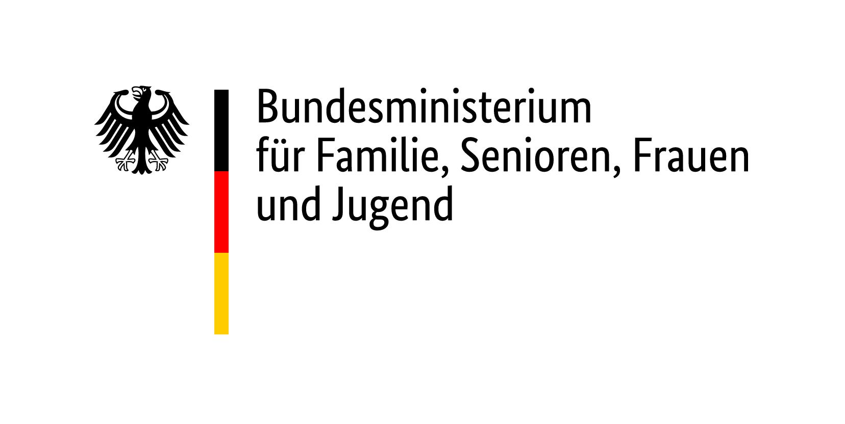 Logo Bundesministerium für Familien, Senioren, Frauen und Jugend